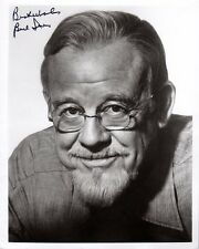 BURL IVES SIGNED AUTOGRAPHED 8x10 PHOTO HOLLYWOOD SCREEN LEGEND PSA/DNA