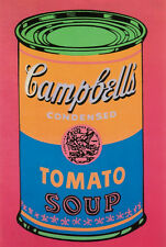 Soup Can Tomato Colored (large) by Andy Warhol Art Print Poster Campbell's 34x51