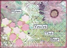 ACEO Art Collage You're Best Mom Easter Birthday Mothers Day Special Occasion