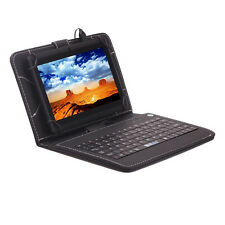 "8GB iRulu 7"" A33 Android 4.4 Tablet Quad Core Dual Camera Capacitive w/Keyboard"