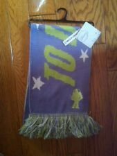 NWT DISNEY TOY STORY TO INFINITY & BEYOND PURPLE GREEN FRINGED SCARF BUZZ