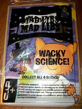 Arby's Mad Libs Wacky Science! Book with Stickers Kid's Meal Toy 2015 NIP