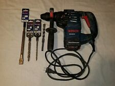 Bosch RH328VC hammer drill works great with 4 bits