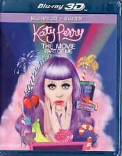 Katy Perry: Part of Me (Blu-ray Disc, 2013, 2-Disc Set, 3D)  Brand New