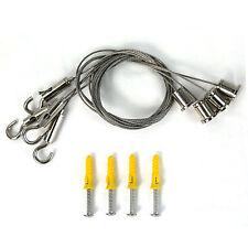 Aufhängeset per Pannello LED materiale di fissaggio Set montaggio cappio ACCESSORI parte