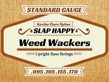 Slap Happy SYNTHETIC GUT Stand Up Double Bass WEEDWHACKER STRINGS Weed Whacker