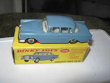 DINKY 186 MERCEDES 220SE EXCELLENT ORIGINAL & VERY GOOD ORIGINAL BOX .