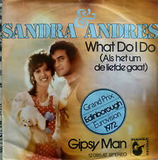 "7"" GRAND PRIX 1972 (NL) SANDRA & ANDRES : What Do I VG+"