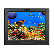 "Portable 12"" Inch LCD Video Monitor Display HDMI BNC USB for PC CCTV Camera FPV"