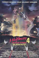 "A NIGHTMARE ON ELM STREET 4 Movie Poster [Licensed-NEW-USA] 27x40"" Theater Size"