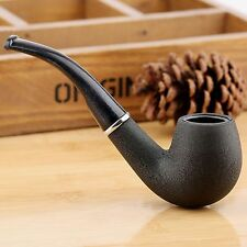Classic Vintage Black Durable Tobacco Cigarette Tabacum Smoking Pipe Men's Gift