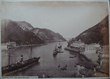 Photo Jean Laurent Albuminé Pasajes Espana Espagne Vers 1870