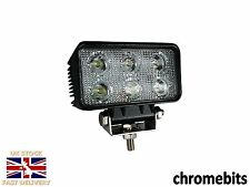 4 X 18W 10-30V 6LED WORK FLOOD BEAM LAMPS LIGHTS JOHN DEERE VALTRA FENDT TRACTOR