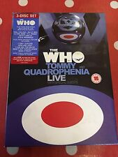The Who - Tommy / Quadrophenia Live With Special Guests (DVD, 2005, 3-Disc Set)