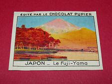 CHROMO JAPON N°143 FUJI-YAMA CHOCOLAT PUPIER ASIE 1936
