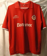 Club Deportivo Toluca Mexican League Red Soccer Jersey Mens Size Large