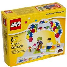 NEW LEGO MINIFIGURE BIRTHDAY SET party favor cake topper clown minifig 850791