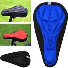 New! Silicone Gel Thick Soft Bike Bicycle Cycling Saddle Seat Cover Cushion LA