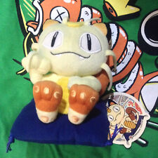 Meowth Festa Plush 2008 Pokemon Center Japan Poke Doll Pillow Persian Figure HTF