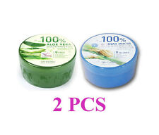 Dodo 3W Clinic 100%  Aloe Vera, Snail mucus Soothing Gel 300g + 300g Korean