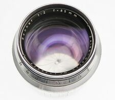 Contax RF Zeiss Opton 85mm f2 Sonnar     #1128633