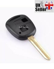 "TOYOTA RAV4 YARIS COROLLA CELICA PRIUS 2 BUTTON REMOTE KEY CASE ""WITH LOGO"""