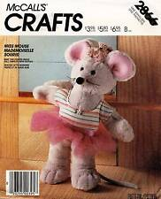 1980's VTG McCall's Miss Mouse and Clothes  Pattern 2866
