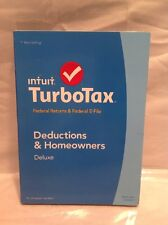 LOT of 25 New Intuit TurboTax 2014 Deluxe Federal Returns & E-File TurboTax