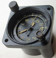 Vintage Waltham A-13A-1 Military Aircraft Mechanical Clock for Parts