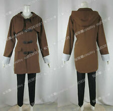No. 6 Shion Brown Coat Set Daily Suit Cosplay Costume J001