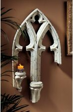 Antique Stone Architectural Wall Hanging Sculpture Medieval Gothic Decor Art New