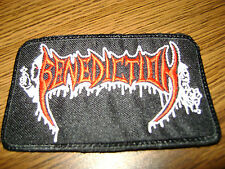 BENEDICTION,SEW ON EMBROIDERED PATCH