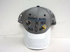 2011 Super Bowl XLV  Pittsburgh Steelers Green Bay Packers Football Cap Hat New