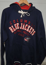 NHL G-III Sports by Carl Banks Columbus Blue Jackets Hooded Sweatshirt Mens XL