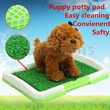 Puppy Potty Training Pad Mat Pet Toliet Trainer Dog Litter Tray Indoor Grass