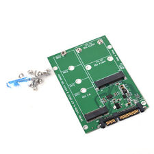 NGFF M.2 B+M KEY mSATA SSD to SATA III 3 Adapter Card for Laptop Desktop 6Gbps
