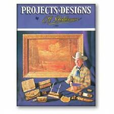 Projects & Designs Book Al Stohlman Tandy Leather 61937-00 Free Ship