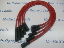 RED 8MM PERFORMANCE IGNITION LEADS WILL FIT. LOTUS ELAN CORTINA TWIN CAM ESCORT