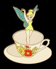 Pin 59147 DisneyShopping.com Tinker Bell in Teacup Only LE