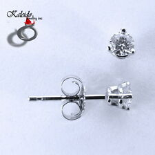 0.23ctw Round Brilliant Cut Canadian Diamond Stud Earrings