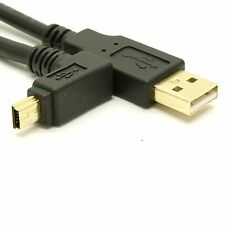 USB 2.0 Device Cable - Up Angle Deep Well Mini-B