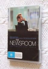 THE NEWSROOM - FIRST SEASON (DVD-4-DISC) R-4, BRAND NEW, FREE POST IN AUSTRALIA