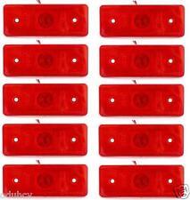 10x 4 LUCI DI POSIZIONE LED LATERALI 24V luci INDICATORE FARI CAMION FURGONE BUS