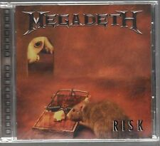 MEGADETH RISK  CD CAPITOL COME NUOVO!!!