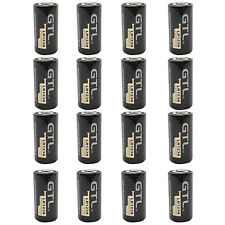 16PCS 123A 16340 1200mAh 3.0V Lithium Li-ion Rechargeable Battery Camera Torch