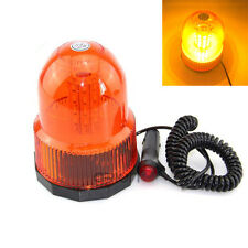 Amber 3 Flash modes 40 LED Warning 12V 24V Beacon Strobe Emergency Light Lamp