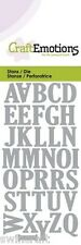 Craft émotions coupe & embossing dies majuscules alphabet 0163