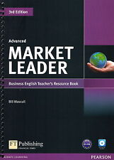 MARKET LEADER 3rd ED Advanced Business English Teacher's Resource Book +CD @NEW