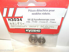 KYOSHO H3034 SECONDARY SHAFT BEARINGS NEXUS CON 30