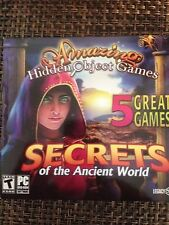 New Secrets of the Ancient World 5 Pack Hidden Object Collection Win PC Games